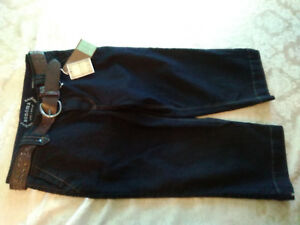 NEW-Sonoma-Life-Style-Modern-Fit-Capri-Denim-Stretch-Jean-with-Belt-Womens-4-NWT