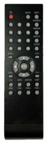 NEW USBRMT Remote For Proscan Curtis TV PLDED4016A PLED4011A PLED4274A PLED2845
