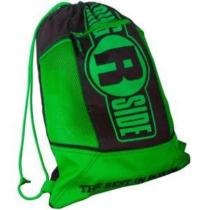 Black Red Ringside Cinch Sack Backpack Gear Gym Equipment Gloves Carry Bag