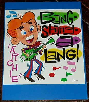 BANG-SHANG-A-LANG ARCHIE 8.5x11 PRINT By PATRICK OWSLEY GROOVY RIVERDALE!
