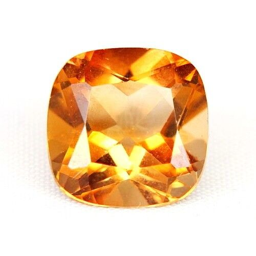Top Topaz: 8,93 CT natural Orange champagne topacio procedentes de Brasil