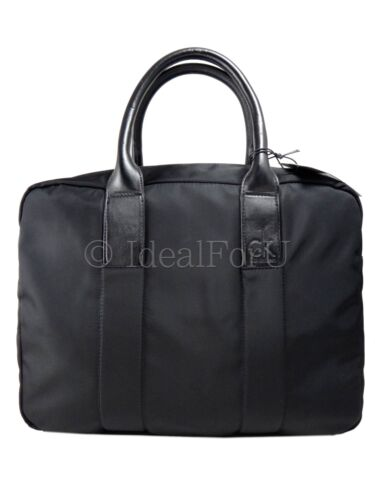 W New Black Briefcase Laptop Dustbag Duffle Bag Unisex Klein Rrp£140 Calvin 0O5q66