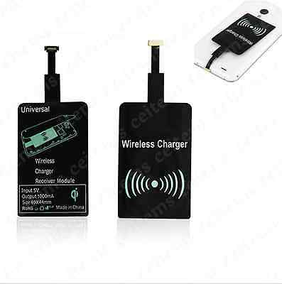 Universal Qi Wireless Charging Receiver Pad Kit for All Micro-USB Android Mobile