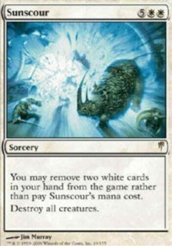 CSP Magic Card MTG: Sunscour White Rare Coldsnap