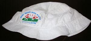 b7b03e33db5 2001 US OPEN NIKE Tennis ARTHUR ASHE KIDS DAY Bucket Hat Cap S M ...