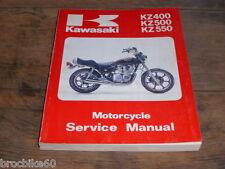 MANUEL REVUE TECHNIQUE D ATELIER KAWASAKI Z 400 500 550 1979-82 Service Manual