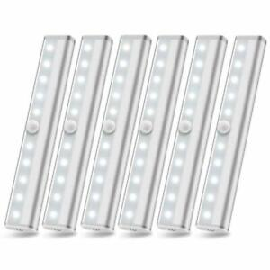 6 Pack Wireless Under Cabinet Lighting