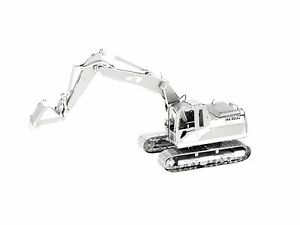 Metal-Earth-CAT-Excavator-3D-Laser-Cut-Metal-DIY-Model-Hobby-construction-Kit