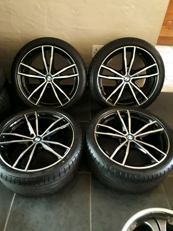 """19"""" Bmw G20 Msport Oem mags and tyres"""