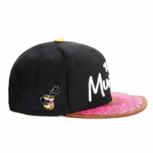 Funny THE MUNCHIES Unique SNAPBACK DOUGHNUT CAP Weird Designer Fashion Donut Hat
