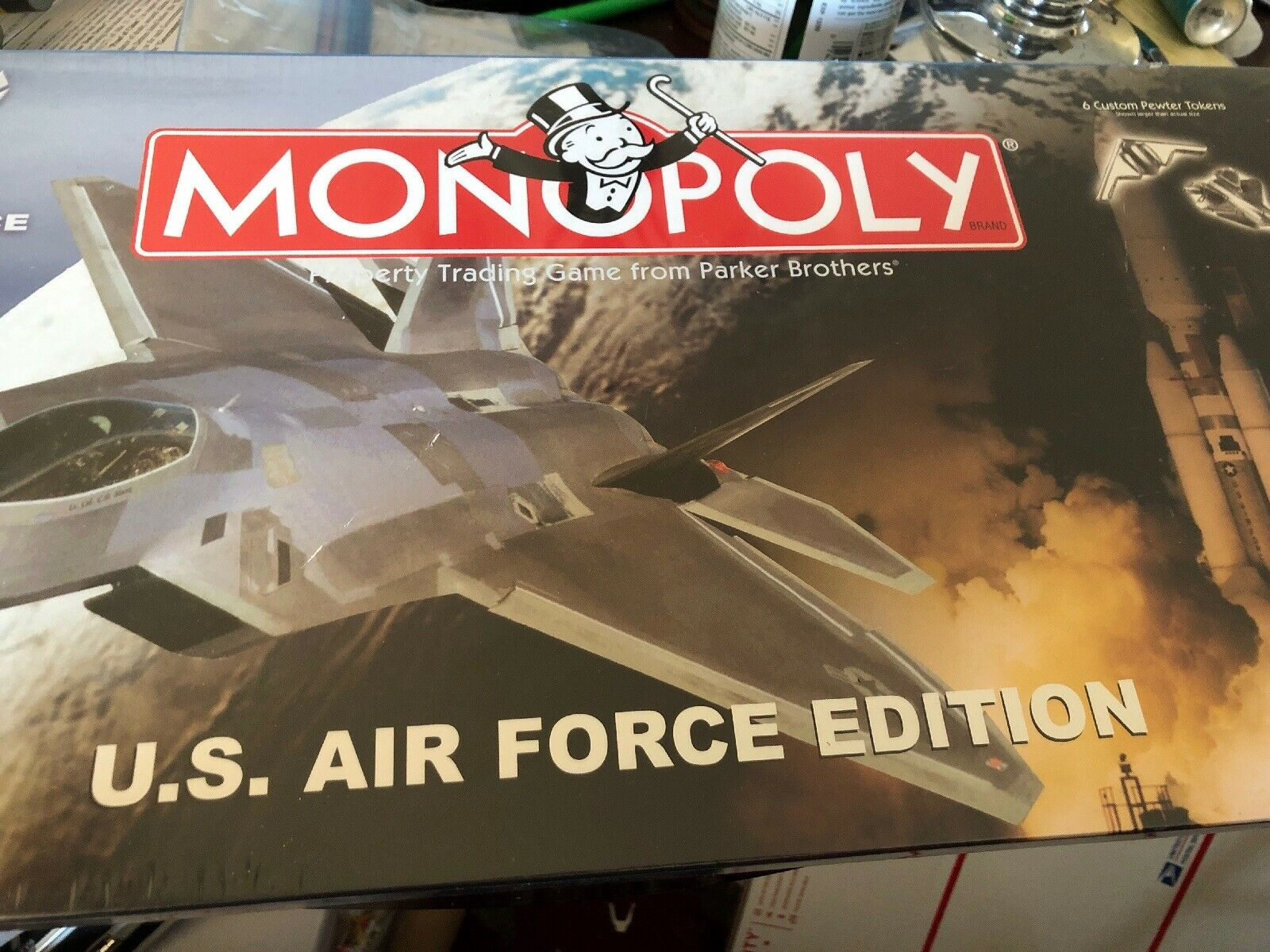 Monopoly U.S. Air Force Edition Parker BredhersNew & Factory Sealed