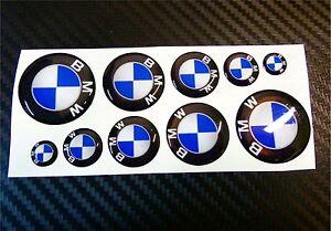 SUPER-KIT-1O-ADESIVI-BMW-RESINATI-3D-DA-1-A-3-CM-STICKERS-ADESIVO-LOGO-COD10