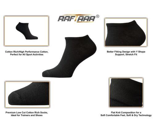 Raftaar Sport Premium Estate Low Cut Scarpe Da Ginnastica Alla Caviglia Piatto Lavorato A Maglia ACTIVE Calzini Lotto