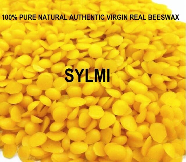 - 1 pound 16 oz 100/% Pure Yellow BEESWAX Pastilles Beads