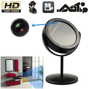 Mini-Mirror-Motion-Detection-Spy-Video-Camera-Hidden-DVR-Cam-Camcorder-Black-M