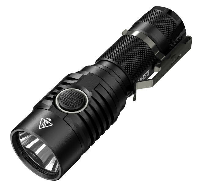 Combo: MH23 NITECORE MH23 Combo: 1800Lm Rechargeable Flashlight w/10A Battery & D2 Charger b01148