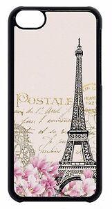 New-Retro-Postcard-Paris-Eiffel-Tower-Hot-Back-Case-Cover-For-Apple-iPod-4-5-6