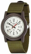"Timex TW2P59800,  ""Camper"" Green Fabric Strap Watch, TW2P598009J"