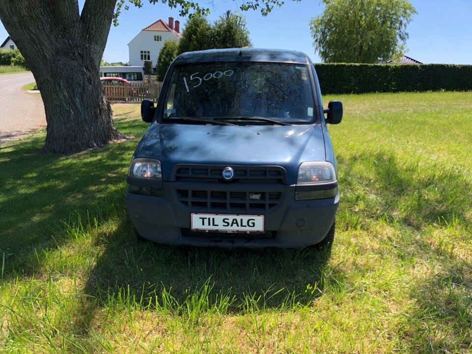 Fiat Doblò Cargo 1,9 D Base Diesel modelår 2003 km 99000 ABS