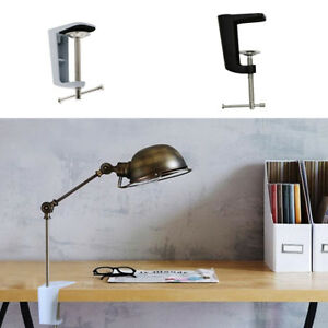 Adjustable-Clamp-Table-Lamp-Clip-Desk-Clamp-Holder-Metal-Stand-90mm-2-Type