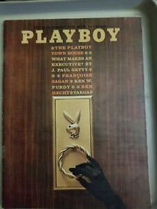 Playboy-May-1962-VERY-GOOD-CONDITION-Free-Shipping-USA