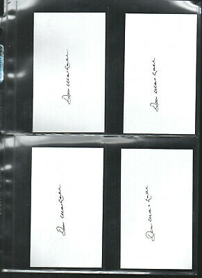 Don Marshall Autograph/auto/hand-signed Index Card 3x5 A 10 Search For Flights