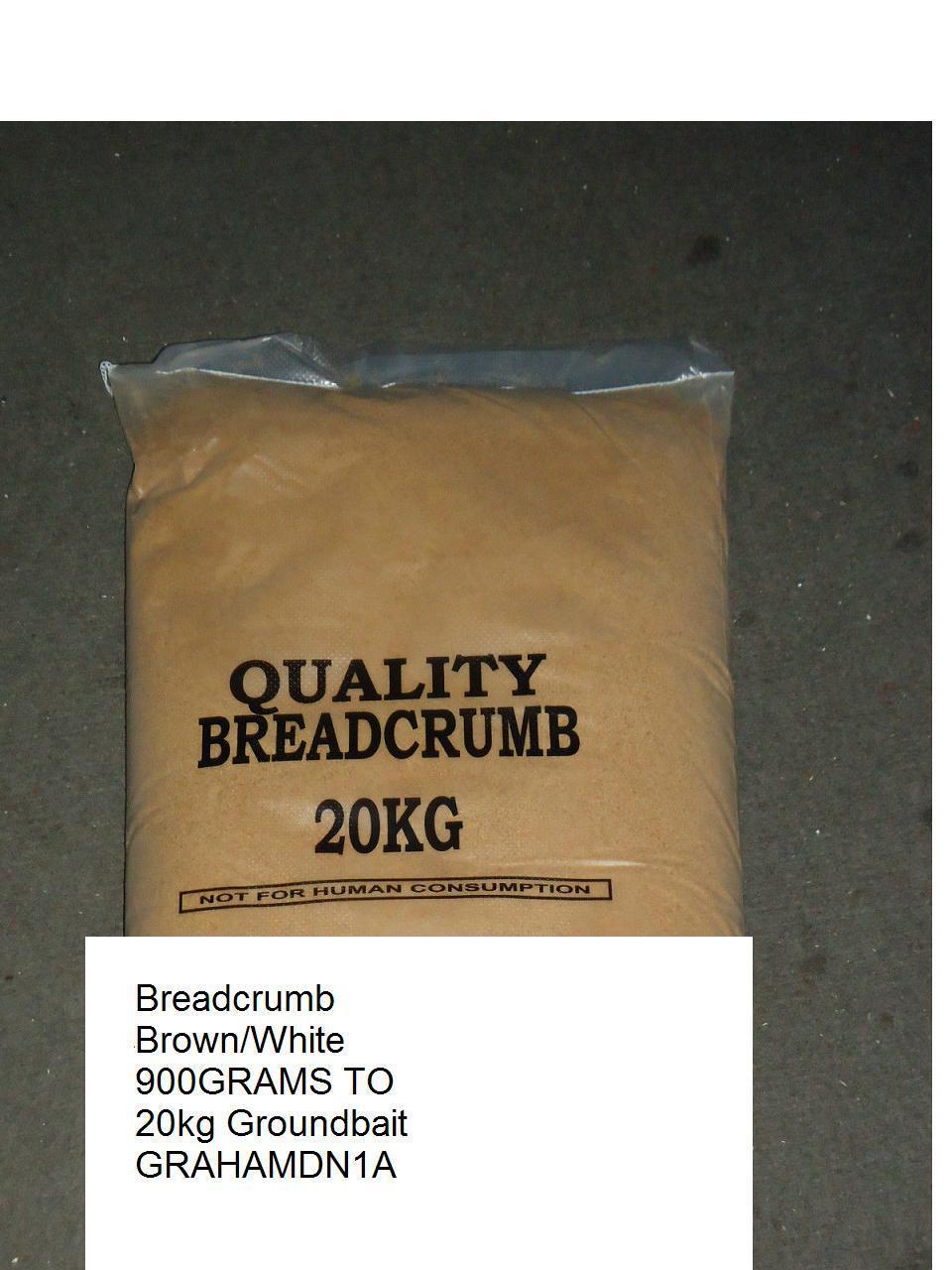 BREADCRUMB,FINE,WHITE,BROWN, RED 1.8kg 180k Groundbait,COARSE FISHING,BAIT