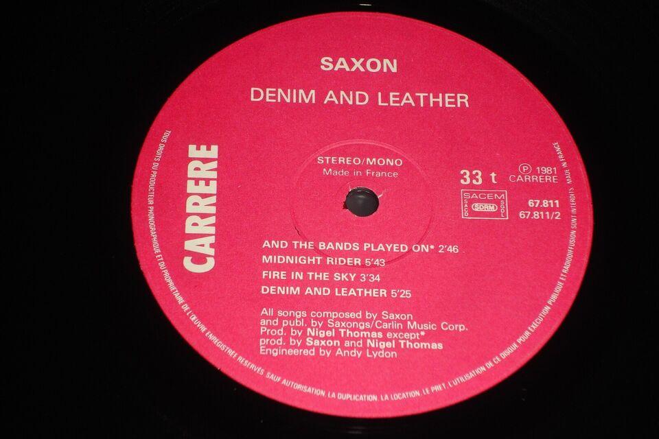 LP, Saxon, Denim And Leather