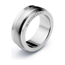 Anello Brosway Galileo Misura 19 GA11A Ring Steel