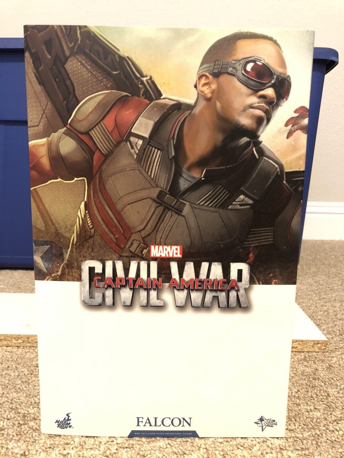 Hot Toys MMS361 Falcon Marvel Captain America Civil War 1/6 Figure on eBay thumbnail
