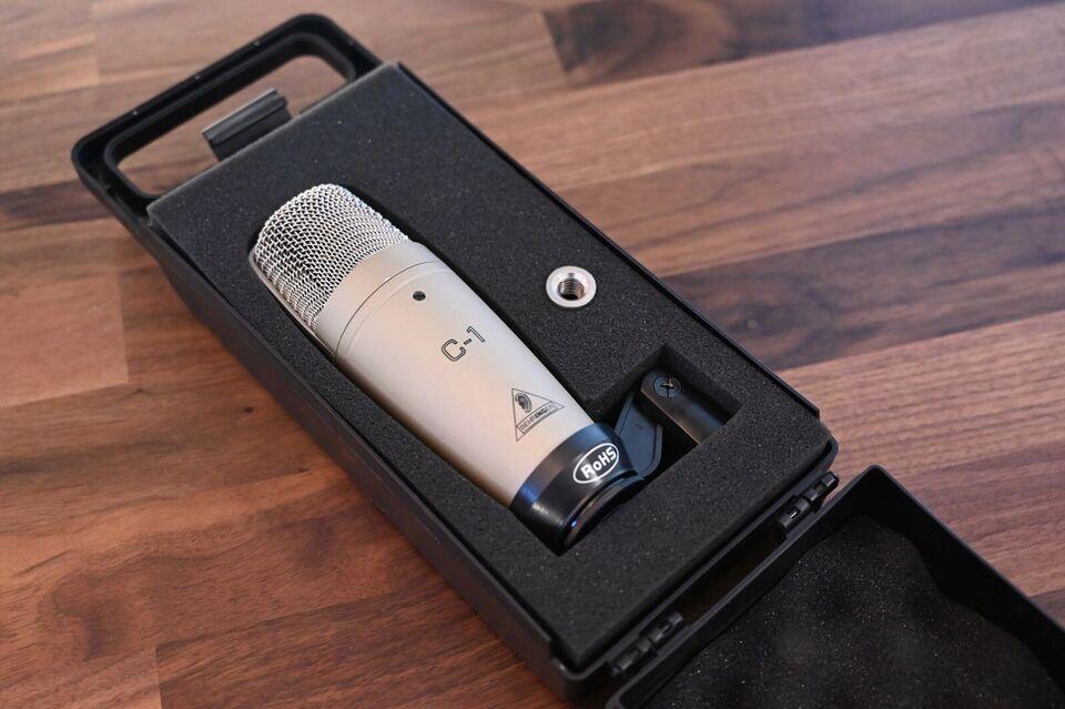 Behringer C1, Kondensator Mikrofon