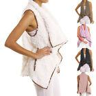 New Cardigan Autumn Winter Women Sleeveless Outwear Gilet Vest Coat Waistcoat