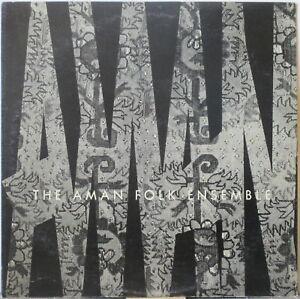 THE AMAN FOLK ENSEMBLE s/t LP Folk/Ethnic – Eastern Europe/Western Asia
