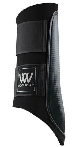 Woof Wear Horse Brushing// Splint Boots Black NEW