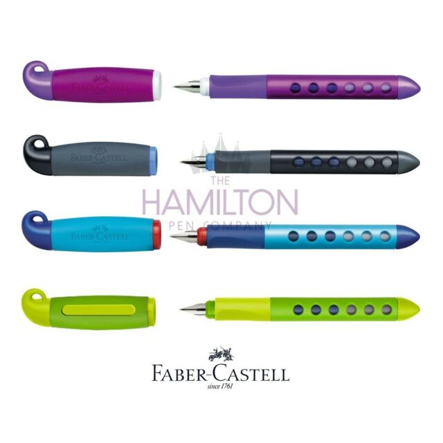 FABER-CASTELL SCRIBOLINO FOUNTAIN PEN - Left or Right Handed Beginners Pen