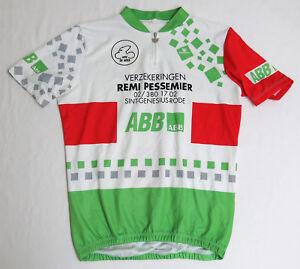 vtg-Vermarc-ABB-WTC-DE-HOEK-90s-Cycling-Team-Jersey-XL-2XL-Fit-Verzekeringen