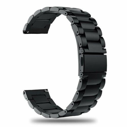 Laufbursche Zubehör Ersatz Armband Polar Ignite Edelstahl schwarz Sportarmband