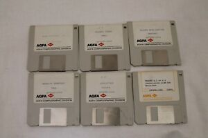 AGFA-For-Mac-Density-Gradient-9000PS-Tool-Support-Disinfectant-3-5-034-Floppy-Disk
