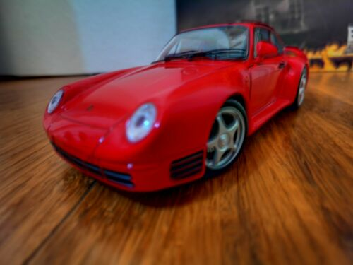 #########Welly 1:24 Porsche 959 Diecast Model Sports Racing Car New in Box######