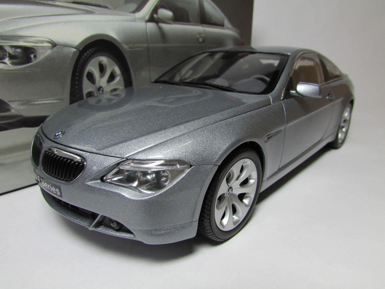 Selten 1   18 kyosho bmw 645ci coupé e63 bietet dynamic design
