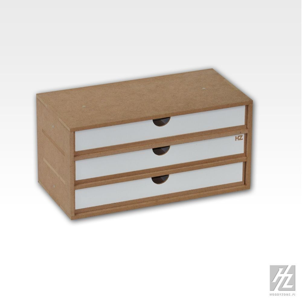 Drawers Module x 3 (Drawers x 3) Mws Hobbyzone Hobby Small Parts Compartment