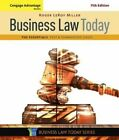 Cengage Advantage Books: Business Law Today, the Essentials: Text and Summarized Cases by Roger Miller (Paperback, 2016)