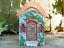 Colourful Hand Painted Resin Mythical Magical Fairy House Door Garden Ornament