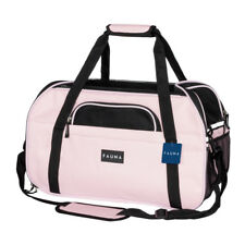 c640e47704 Fauna® Dog Cat Travel Carrier Crate Airplane Travel Pet Bag - Pink / Blue /