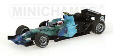 MINICHAMPS 400 070008 HONDA RA107 F1 model Barrichello Earth livery 2007 1:43rd
