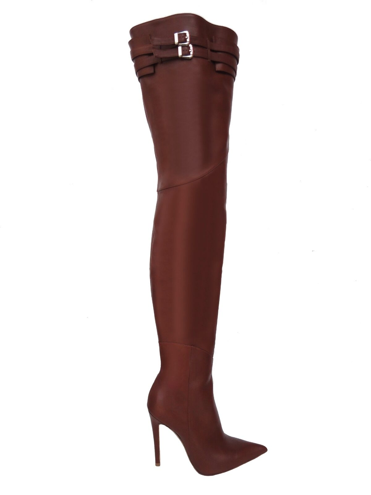 CQ COUTURE CUSTOM ITALY OVERKNEE BOOTS STIEFEL BOOTS
