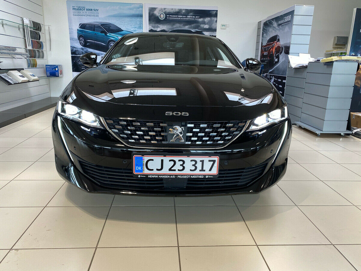 Peugeot 508 2,0 BlueHDi 177 GT EAT8 4d - 449.900 kr.
