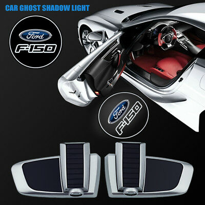 Car Door F150 Logo Projector Courtesy Welcome Ghost Shadow Light For Ford F-150