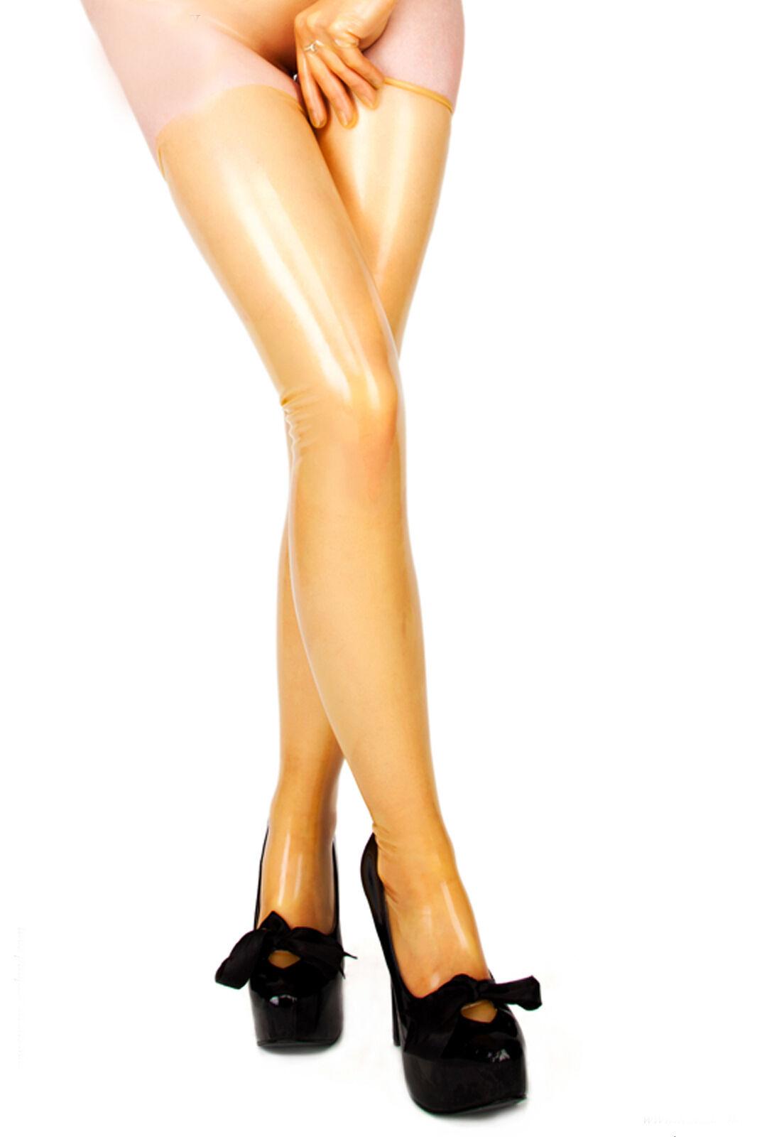 LATEX Strümpfe extralang von LATEXA - TRANSPARENT - Größe Größe Größe wählbar bis XXL | Wir haben von unseren Kunden Lob erhalten.  | Eleganter Stil  | Wirtschaft  | Verrückte Preis  | Deutschland  6b948e