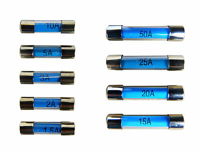 motorbike NEW Glass 20A car pack of 20 35A 30MM standard quick blow fuses